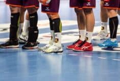Image de l'article Les chaussures des joueurs du HBC Nantes