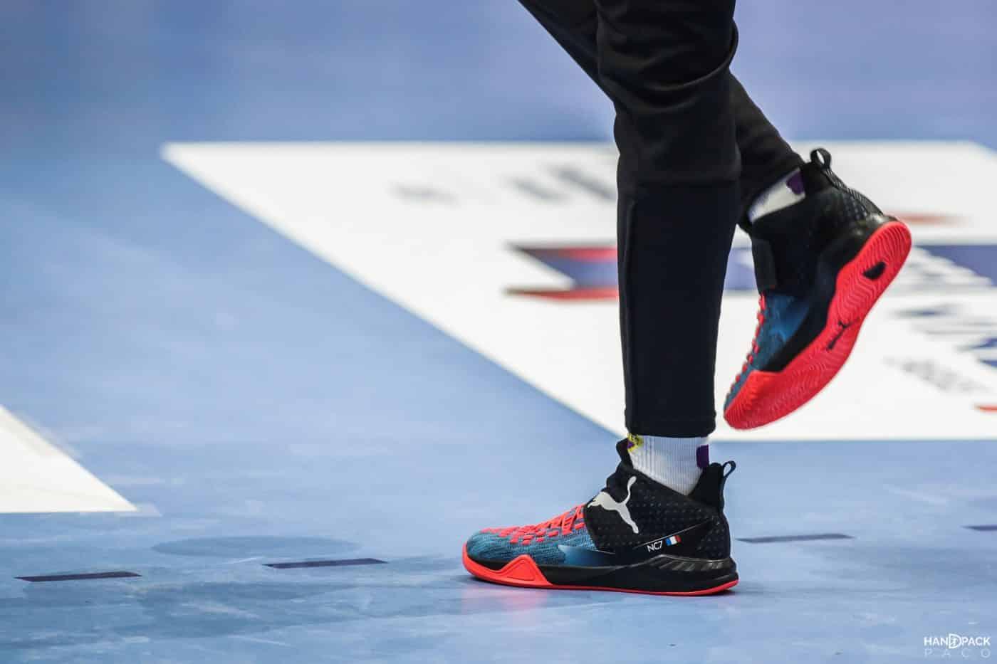 Les chaussures des 17 Bleus pour le championnat du Monde 2019