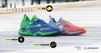 Image de l'article De nouveaux coloris pour les Kempa Wing!
