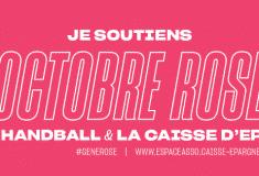 Image de l'article Octobre Rose s'affiche sur le maillot des Handballeuses Françaises