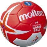 Présentation du ballon Molten X5000 Kumamoto pour le championnat du Monde de hand