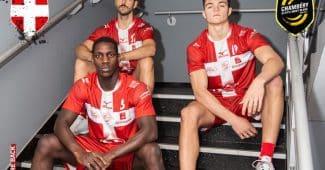 Image de l'article La Croix de Savoie fait son retour sur le maillot de Chambéry