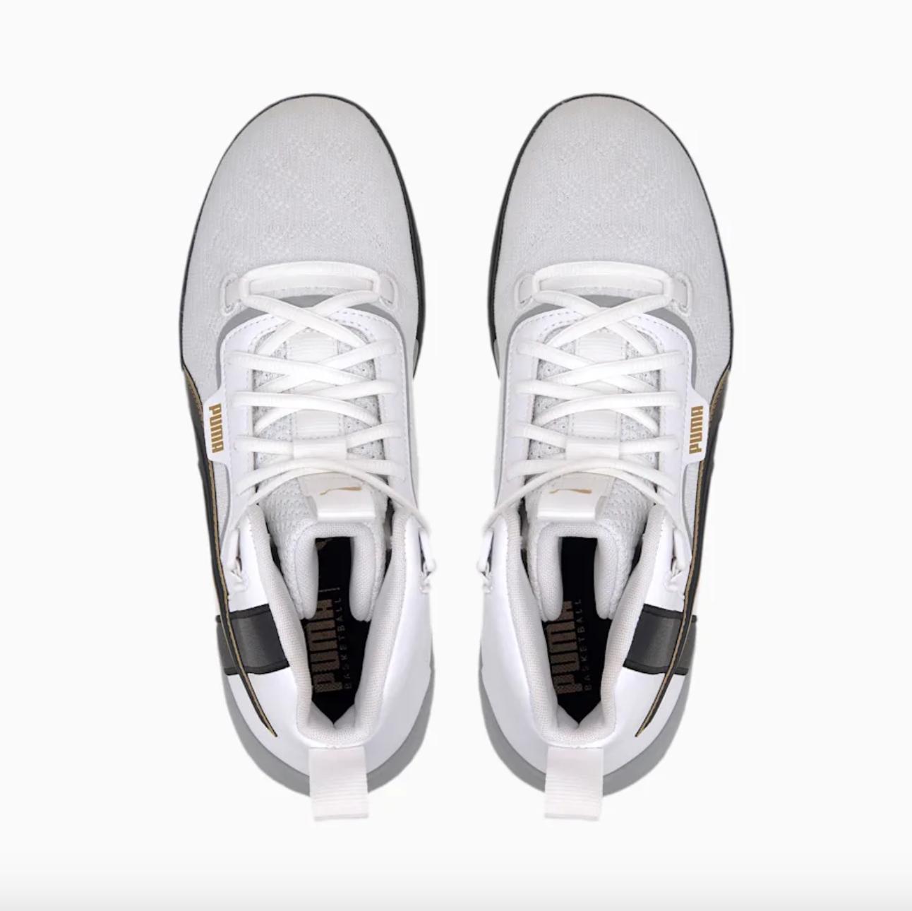 Focus sur les Puma Legacy de Luc Abalo. Chaussures de Handball