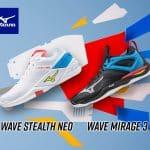 Mizuno dévoile la Wave Stealth Neo pour la sortie du pack MU-TE-KI