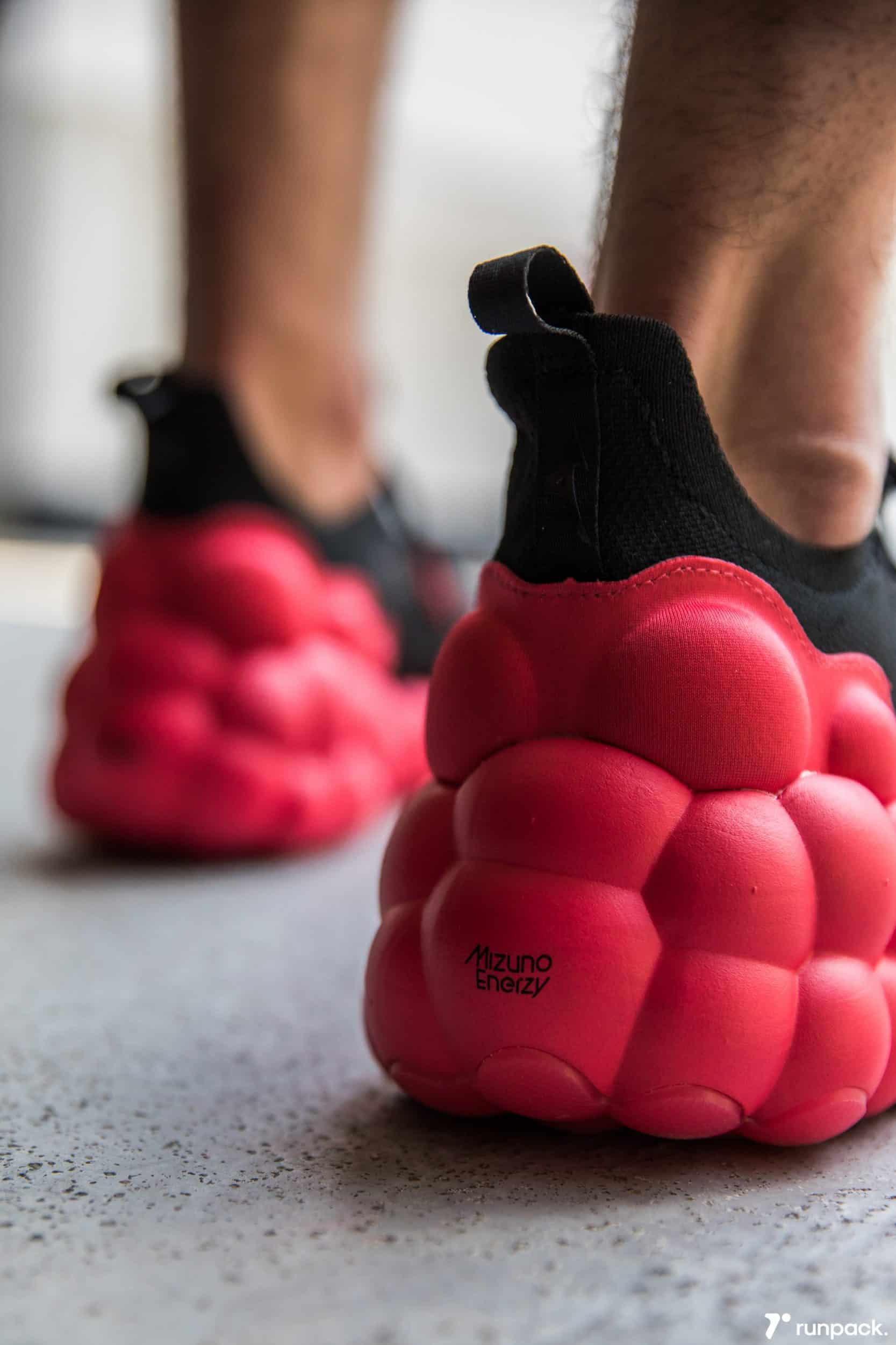 Nouvelle technologie pour les chaussures de hand, voici