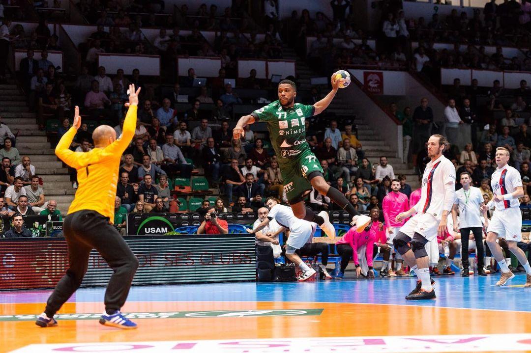 Steven-George-Handball-USAM-Nîmes